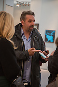 KEITH TYSON, VIP Opening of Frieze Masters. Regents Park, London. 9 October 2012