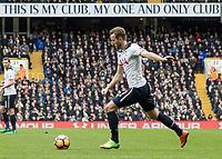 Football - 2016 / 2017 Premier League - Tottenham Hotspur vs. Stoke City<br /> <br /> Harry Kane of Tottenham prepares to strike his shot at White Hart Lane.<br /> <br /> COLORSPORT/DANIEL BEARHAM