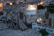 """Exterior of the restaurant """"I Baccanti"""" one of the most exclusive of the city"""