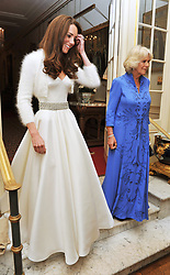 File photo dated 29/04/11 of the Duchess of Cambridge and the Duchess of Cornwall leaving Clarence House to travel to Buckingham Palace for the evening celebrations following her wedding. The Duchess of Cambridge will have spent a decade as an HRH when she and the Duke of Cambridge mark their 10th wedding anniversary on Thursday. Issue date: Wednesday April 28, 2021.