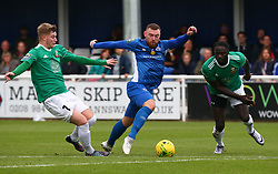 October 7, 2017 - Billericay, England, United Kingdom - Billy Bricknell of Billericay Town.during Bostik League Premier Division match between Billericay Town against Hendon FC at New Lodge Ground, Billericay on 07 Oct 2017  (Credit Image: © Kieran Galvin/NurPhoto via ZUMA Press)