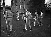 Ireland Soccer Team Training.1983.14.11.1983.11.14.1983.14th November 1983..The Ireland Soccer team trained, for the forthcoming match against Malta, at Stewarts Hospital, Palmerstown Dublin.The entire squad was:..Liam Brady......Brian Cottington.....Gerry Daly....John Devine.....Leo Donnellan.....Tony Galvin.....Tony Grealish.....Ashley Grimes.....Greg Hayes....Chris Hughton....Dennis Irwin.....Patrick Kelch.....Gary Alexander Kelly.....Mark Lawrenson.....Mick Martin......Seamus McDonagh...Edward McGinley.....Brian Mooney.....Kevin Moran......Derek Murray......Liam O'Brien.....Kevin O'Callaghan..David O'Leary..Kenneth Petit de Mange....Paul Power.....Michael Robinson..John Sheridan..Frank Stapleton.....Gary Waddock..Micky Walsh.....Mike Walsh II......Ronnie Whelan