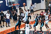 THOUSAND OAKS, CA Sunday, August 12, 2018 - Nike Basketball Academy. Alonzo Gaffney 2019 #8 of Brewster Academy shoots. <br /> NOTE TO USER: Mandatory Copyright Notice: Photo by John Lopez / Nike
