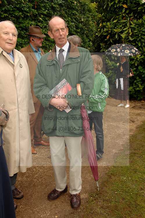 HRH THE DUKE OF KENT at the Cartier Style Et Luxe at the Goodwood Festival of Speed, Goodwood House, West Sussex on 24th June 2007.<br /><br />NON EXCLUSIVE - WORLD RIGHTS