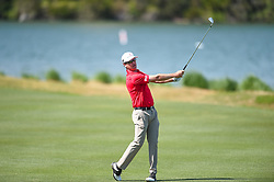 March 21, 2018 - Austin, TX, U.S. - AUSTIN, TX - MARCH 21: Zach Johnson watches his approach shot during the First Round of the WGC-Dell Technologies Match Play on March 21, 2018 at Austin Country Club in Austin, TX. (Photo by Daniel Dunn/Icon Sportswire) (Credit Image: © Daniel Dunn/Icon SMI via ZUMA Press)