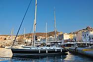 Syros,Greece a Greek Cyclades Island