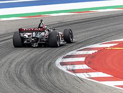 March 23, 2019 - Austin, Texas, U.S. - GRAHAM RAHAL (15) of the United States goes through the turns during practice for the INDYCAR Classic at Circuit Of The Americas in Austin, Texas. (Credit Image: © Walter G Arce Sr Asp Inc/ASP)