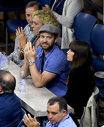 ***NO NY DAILIES*** Justin Timberlake and wife Jessica Biel sit in a suite during the US Open at the USTA Billie Jean King National Tennis Center on September 2, 2017 in Flushing Queens. CAP/MPI04 ©MPI04/Capital Pictures. 03 Sep 2017 Pictured: Justin Timberlake and wife Jessica Biel. Photo credit: MPI04/Capital Pictures / MEGA TheMegaAgency.com +1 888 505 6342