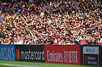 Football - 2021 / 2022 Women's Super League - Arsenal vs Chelsea - Emirates Stadium - Sunday 5th September 2021<br /> <br /> Arsenal fans watching during the first half.<br /> <br /> COLORSPORT/Ashley Western