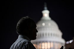 July 27, 2017 - Washington, DC, U.S. - United States Senator BOB CASEY JR. (D-PA) speaks with reporters outside the U.S. Capitol as the Senate votes on a 'Skinny Repeal' of the Affordable Care Act inside. (Credit Image: © Alex Edelman via ZUMA Wire)