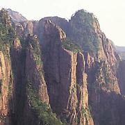 China, Yellow mountains.