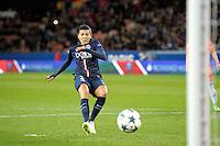 Goal de Kenza Dali - 28.03.2015 - Paris Saint Germain / Glasgow City FC - 1/2 Finale retour Champions League<br /> Photo : Andre Ferreira / Icon Sport