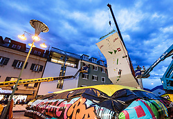 15.08.2016, Hauptplatz, Lienz, AUT, Free Solo Masters, im Bild Feature, Uebersicht // Feature Overview during the Free Solo Masters at the Hauptplatz in Lienz, Austria on 2016/08/15. EXPA Pictures © 2016, PhotoCredit: EXPA/ JFK