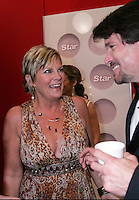 28 April 2006: Kim Zimmer with Peter Reckell in the exclusive behind the scenes photos of celebrity television stars in the STAR greenroom at the 33rd Annual Daytime Emmy Awards at the Kodak Theatre at Hollywood and Highland, CA. Contact photographer for usage availability.