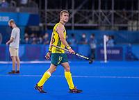 TOKIO -  tijdens de hockey finale mannen, Australie-Belgie (1-1), België wint shoot outs en is Olympisch Kampioen,  in het Oi HockeyStadion,   tijdens de Olympische Spelen van Tokio 2020. COPYRIGHT KOEN SUYK
