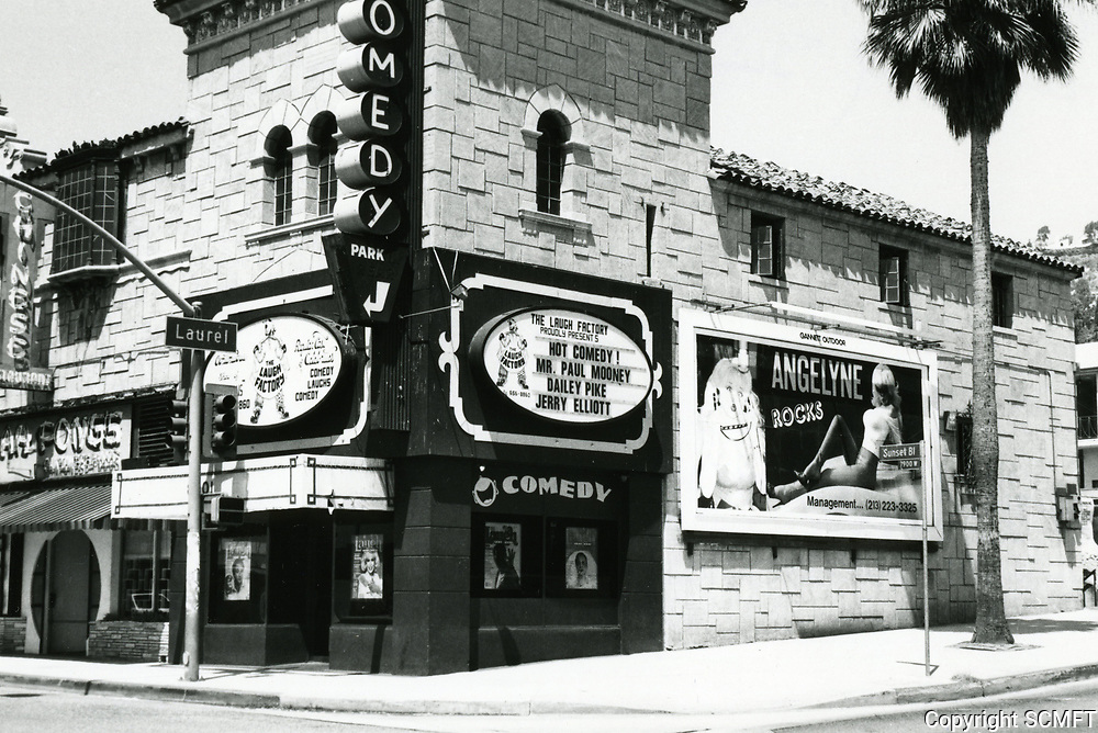 1987 The Laugh Factory on Sunset Blvd.