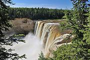 Hay River at Alexandra Falls<br /> Twin Falls Gorge Territorial Park<br /> Northwest Territories<br /> Canada