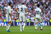 Real Madrid's Kleper Lima Ferreira Pepe durign the match of La Liga between Real Madrid and SD Eibar at Santiago Bernabeu Stadium in Madrid. October 02, 2016. (ALTERPHOTOS/Rodrigo Jimenez)
