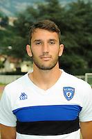 Thomas Vincensini - 19.07.2014 - Bastia / Evian Thonon - Match Amical<br /> Photo : Jean Paul Thomas / Icon Sport