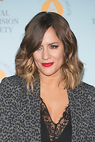 Caroline Flack  at The RTS Programme Awards 2018 at the Gosvenor House Hotel London Tuesday 20th March 2018