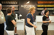 14 JULY 2015 -- ST. LOUIS -- Washington University in St. Louis and Bon Appétit Management Company joined Kaldi's Coffee Roasting Co. in hosting dinner for participants in the FoodPro® Users Conference 2015: Gateway to Great Food at Kaldi's roasting facility in St. Louis Tuesday, July 14, 2015. Photo © copyright 2015 Sid Hastings.