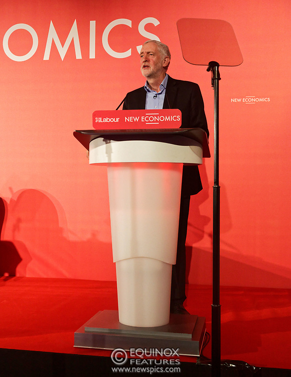 London, United Kingdom - 10 February 2018<br /> Leader of the Labour Party Jeremy Corbyn, speaking at the Labour Party's Alternative Models of Ownership Conference where he spoke about new 21st century forms of democratic ownership of industries.<br /> www.newspics.com/#!/contact<br /> (photo by: EQUINOXFEATURES.COM)<br /> Picture Data:<br /> Photographer: Equinox Features<br /> Copyright: ©2018 Equinox Licensing Ltd. +448700 780000<br /> Contact: Equinox Features<br /> Date Taken: 20180210<br /> Time Taken: 15532019