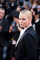 Actress Charlize Theron at the gala screening for the film The Last Face at the 69th Cannes Film Festival, Friday 20th May 2016, Cannes, France. Photography: Doreen Kennedy