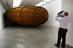 Scupture Memory 2008 by Anish Kapoor at Museum of Contemporary Art in Sydney Australia