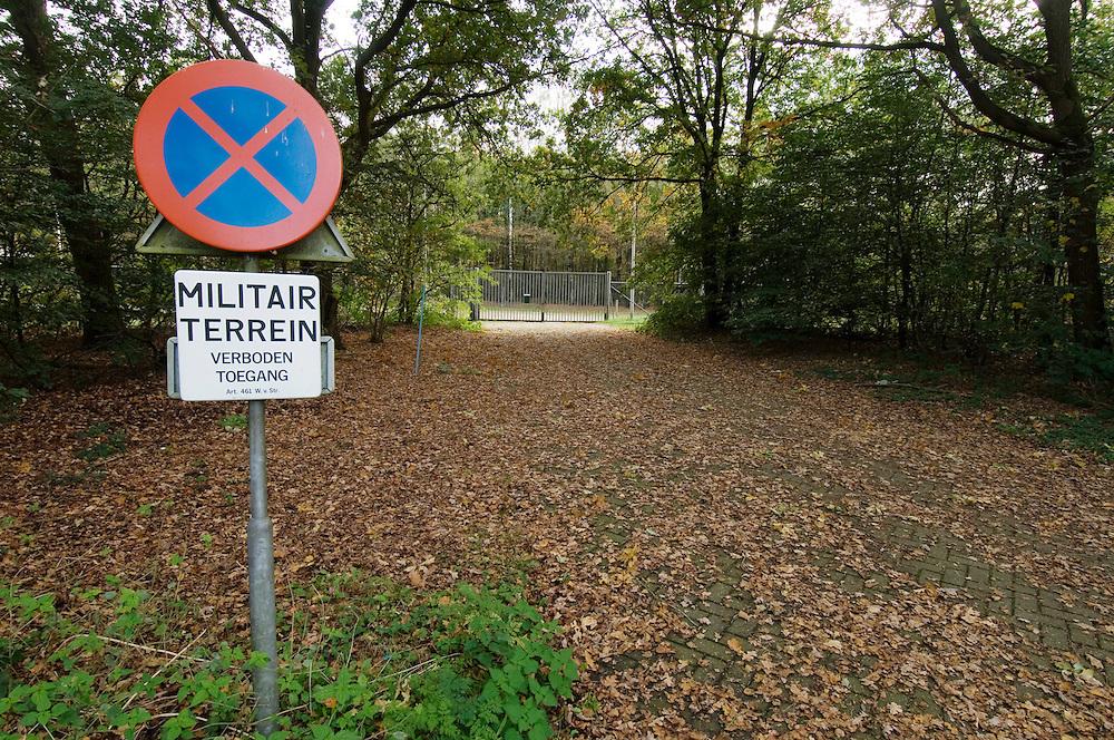 Nederland, Ommen, 26 okt 2006.Munitiemagazijnencomplex Stegerveld...Foto: (c) Michiel Wijnbergh