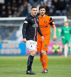 Falkirk's Fraser Aird. Falkirk 3 v 0 Dundee United, Scottish Championship game played 11/2/2017 at The Falkirk Stadium.