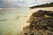 Takauroa Beach, Aitu Island, Cook Islands, Polynesia