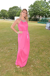 LADY KITTY SPENCER at the Flannels For Heroes cricket competition in association with Dockers held at Burton Court, Chelsea, London on 19th June 2015