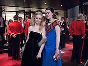 GEORGINA IRELAND; FLORA SPENS, The Royal Caledonian Ball 2010. Grosvenor House. Park Lane. London. 30 April 2010 *** Local Caption *** -DO NOT ARCHIVE-© Copyright Photograph by Dafydd Jones. 248 Clapham Rd. London SW9 0PZ. Tel 0207 820 0771. www.dafjones.com.<br /> GEORGINA IRELAND; FLORA SPENS, The Royal Caledonian Ball 2010. Grosvenor House. Park Lane. London. 30 April 2010