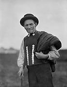 Austrian man with hat, Austria, c1921