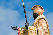 King Kamehameha Statue in Honolulu, Hawaii