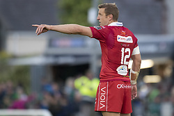 September 22, 2018 - Galway, Ireland - Hadleigh Parks of Scarlets during the Guinness PRO14 match between Connacht Rugby and Scarlets at the Sportsground in Galway, Ireland on September 22, 2018  (Credit Image: © Andrew Surma/NurPhoto/ZUMA Press)