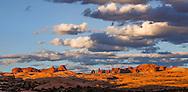 Sunset at Arches National Park, Utah, USA