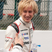 Brendon Hartley, Porsche, at the WEC 6 Hours of Spa-Francorchamps 2015