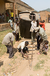 Preparing For Moving The Water Tank