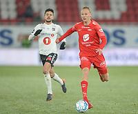 Fotball , 8. november 2019 , Eliteserien , Brann - Odd<br /> Kristoffer Barmen  , Brann <br /> Fredrik Oldrup Jensen , Odd
