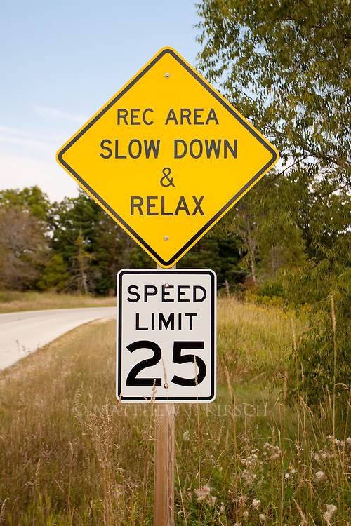 Interesting way to remind people to slow down.