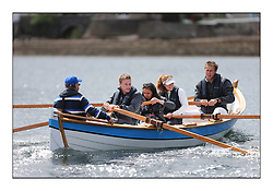 Day three of the Fife Regatta, Cruise up the Kyles of Bute to Tighnabruaich<br /> <br /> Skiff rowing races,<br /> Latifa crew<br /> <br /> * The William Fife designed Yachts return to the birthplace of these historic yachts, the Scotland's pre-eminent yacht designer and builder for the 4th Fife Regatta on the Clyde 28th June–5th July 2013<br /> <br /> More information is available on the website: www.fiferegatta.com