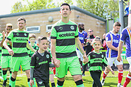 Forest Green Rovers Lloyd James(4) during the EFL Sky Bet League 2 match between Forest Green Rovers and Exeter City at the New Lawn, Forest Green, United Kingdom on 4 May 2019.