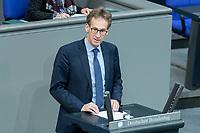 13 FEB 2020, BERLIN/GERMANY:<br /> Detlef Seif, MdB, CDU, Sitzung des Deutsche Bundestages, Plenum, Reichstagsgebaeude<br /> IMAGE: 20200213-01-033