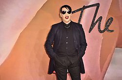 Marilyn Manson attending The Fashion Awards 2016 at the Royal Albert Hall, London.
