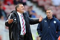 NPower Championship Middlesbrough vs. Leicester City <br /> Tony Mowbray (Middlesbrough manager) at The Riverside.