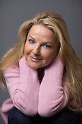 May0073094 . Daily Telegraph<br /> <br /> Arts<br /> <br /> Comedian and actress Sarah Hadland photographed at the BBC Broadcasting House .<br /> <br /> London 11 October 2016