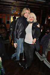 KYLE DE'VOLLE and RITA ORA at a birthday party for Kyle De'Volle hosted by Rita Ora at Bo Lang, 100 Draycott Avenue, London SW3 on 29th November 2013.
