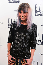 CHLOE NORGAARD at the 17th Elle Style Awards 2014 in association with Warehouse held at One Embankment, 8 Victoria Embankment, London on 18th February 2014.
