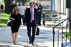 June 12, 2017 - Norristown, Pennsyvlania, United States - Bill Cosby's defense team, including defense attorneys Angela Agrusa and Brian McMonagle, arrive at Montgomery County Courthouse for the start of the sexual assault trial' second week, in Norristown, Pennsylvania, on June 12, 2017. (Credit Image: © Bastiaan Slabbers/NurPhoto via ZUMA Press)